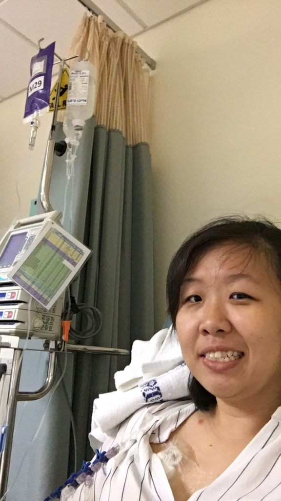 Chemo selfie!
